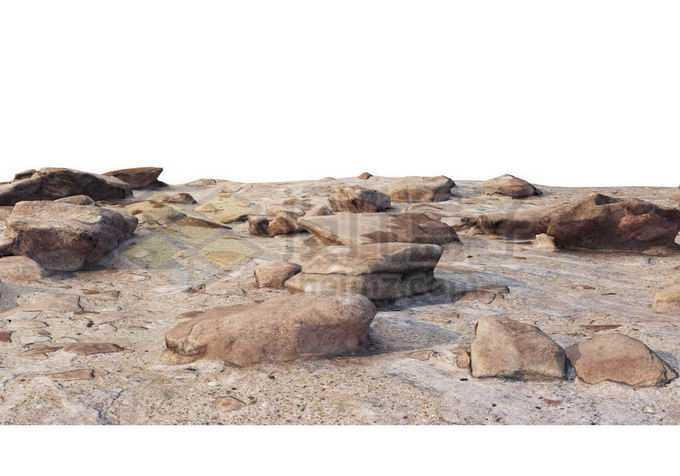 遍地石块的岩石山坡2721073PSD免抠图片素材