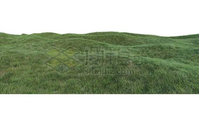 长满青草的山坡大草原6916874PSD免抠图片素材