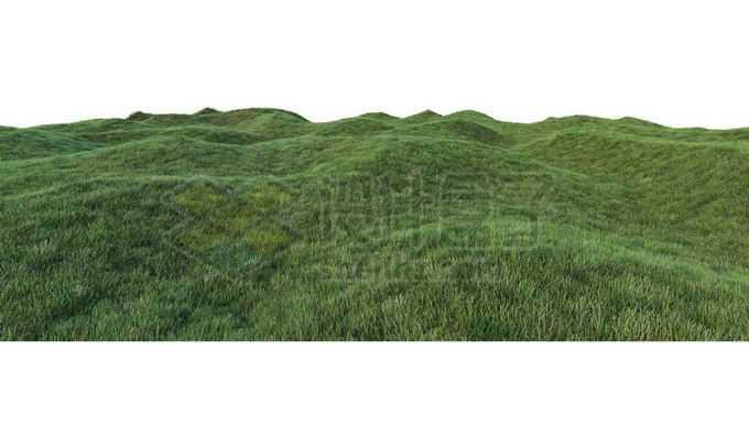 长满青草的山坡大草原高山1517674PSD免抠图片素材