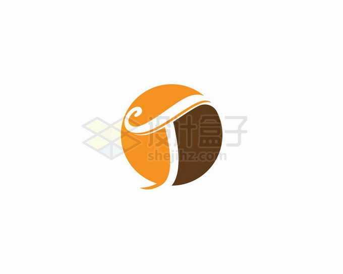 圆形大写字母T标志logo图案设计方案8140397矢量图片免抠素材免费下载