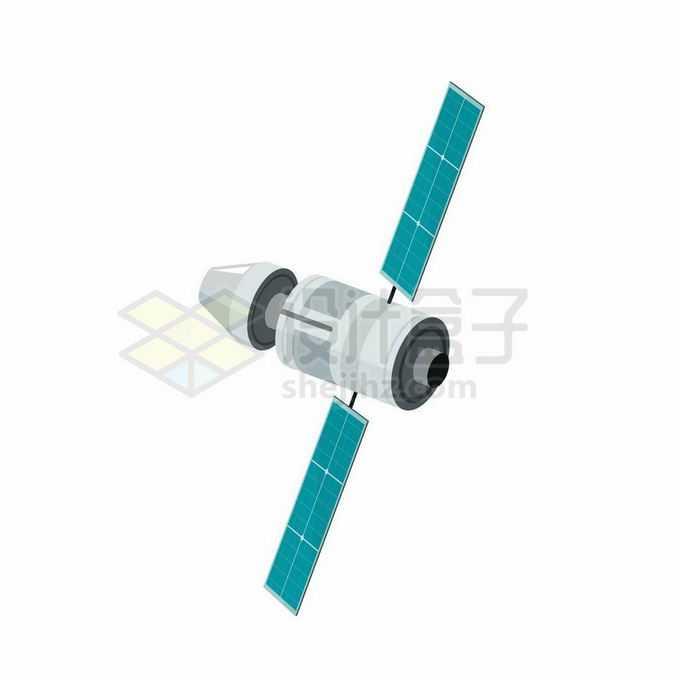 一颗卡通宇宙飞船返回式卫星6698740矢量图片免抠素材免费下载