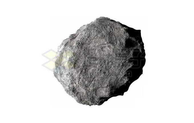 一颗不规则形状的岩石型小行星9278354png免抠图片素材