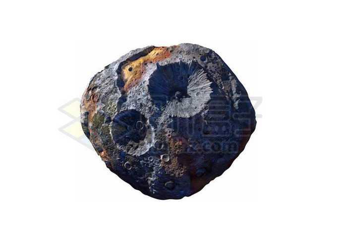 16Psyche普赛克金属小行星太阳系星球4660704png免抠图片素材