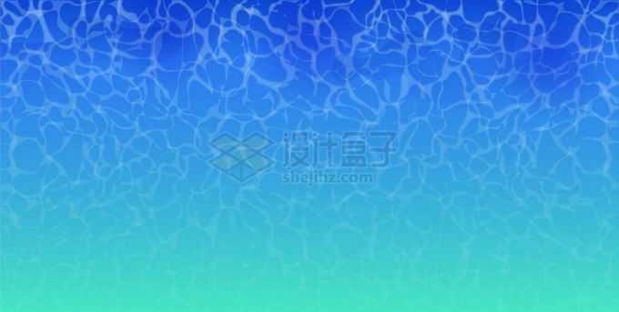 卡通蔚蓝色的海水背景5897005矢量图片免抠素材免费下载