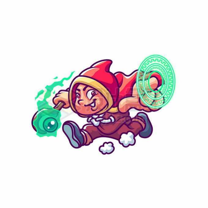 卡通魔法师游戏角色人物7758470矢量图片免抠素材免费下载