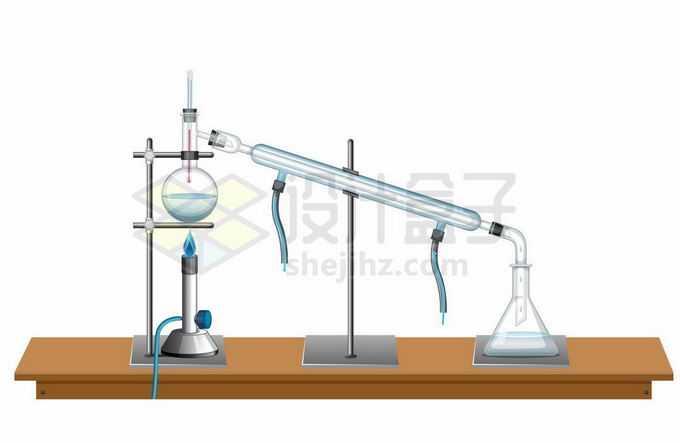 搭建好的化学实验仪器平台6980944矢量图片免抠素材免费下载