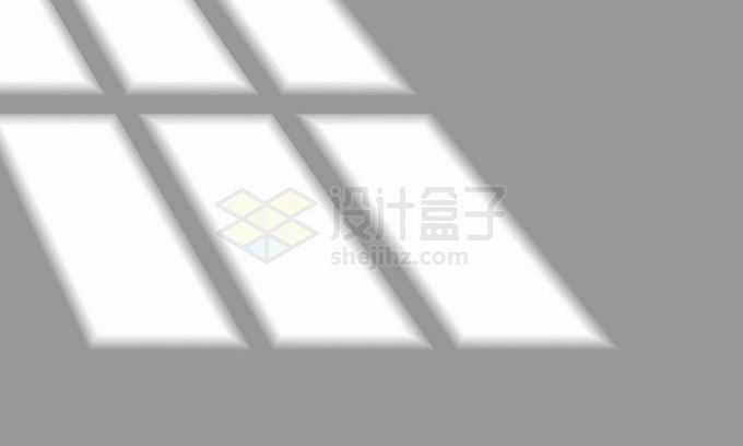 阳光月光照射下的窗户影子滤镜9134165矢量图片免抠素材免费下载