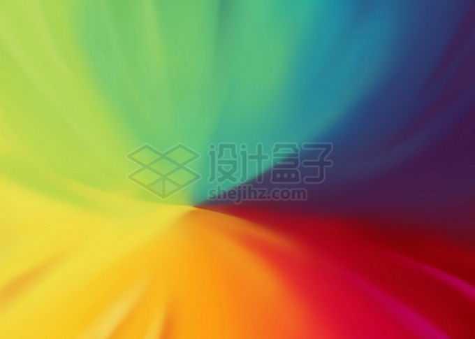 绚丽渐变色组成的背景图免抠图片素材
