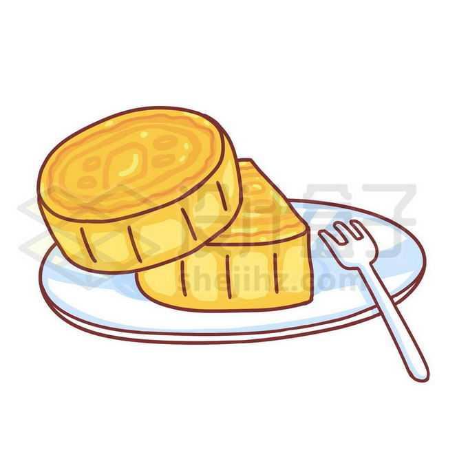 中秋节卡通月饼美味传统美食4364913图片素材下载