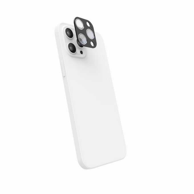 白色银色iPhone 13 pro max苹果手机背面摄像头分解3719117png免抠图片素材