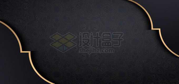 金色线条高级灰底纹深色黑色背景5444098向量图片素材