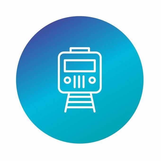 一款圆形按钮地铁图标9508521矢量图片免抠素材免费下载