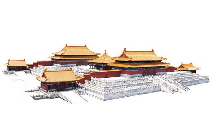 太和殿北京故宫建筑群6694005免抠图片素材