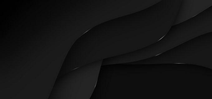 高级灰剪纸叠加风格黑色背景6386573免抠图片素材