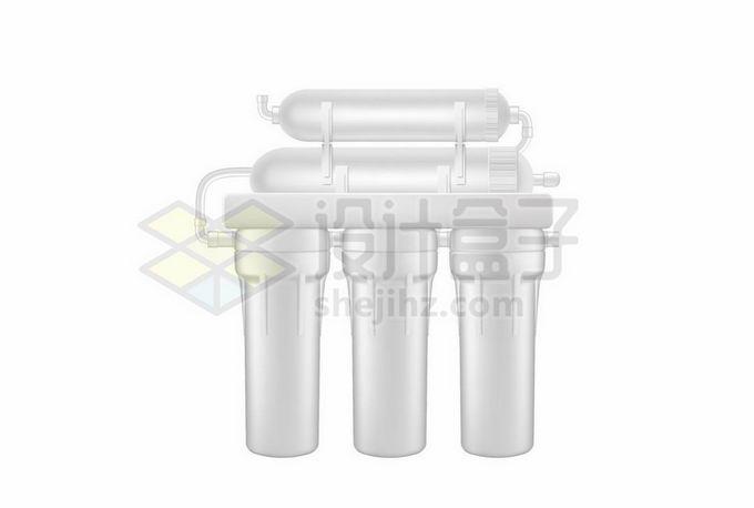 白色的纯净水过滤器装置7295964矢量图片免抠素材免费下载