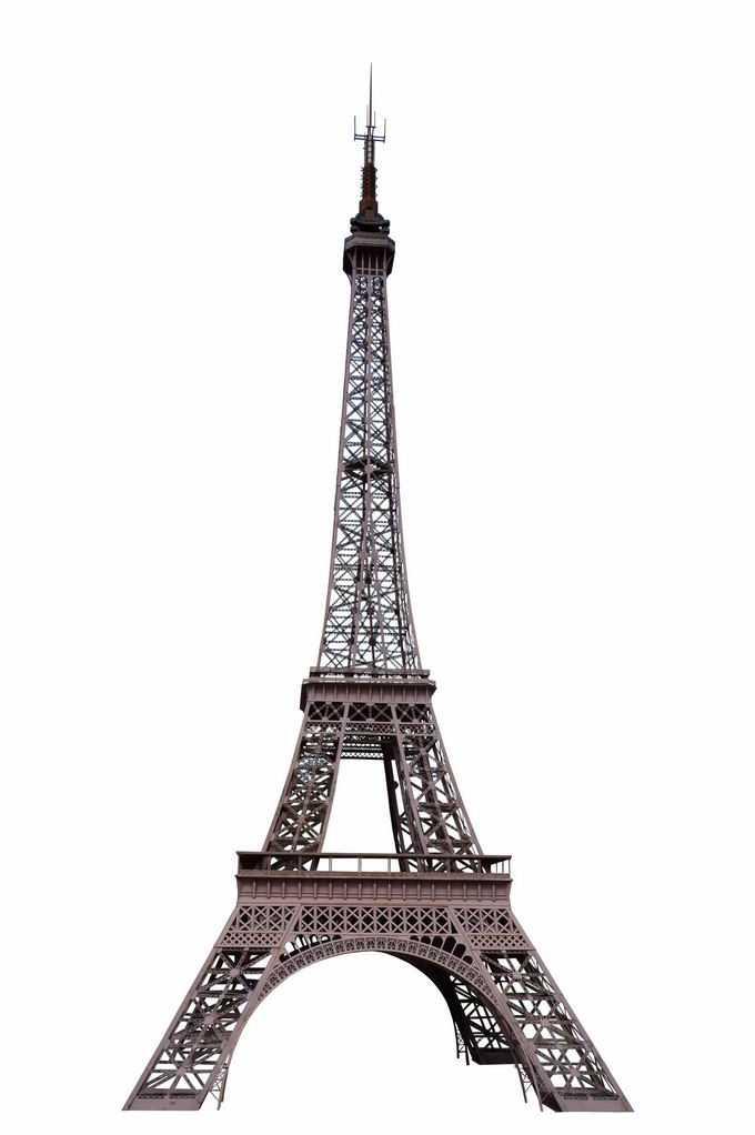 巴黎埃菲尔铁塔经典建筑6562114png免抠图片素材