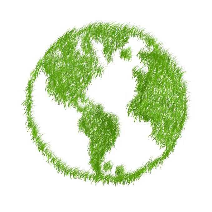 青草覆盖的地球7147638png免抠图片素材