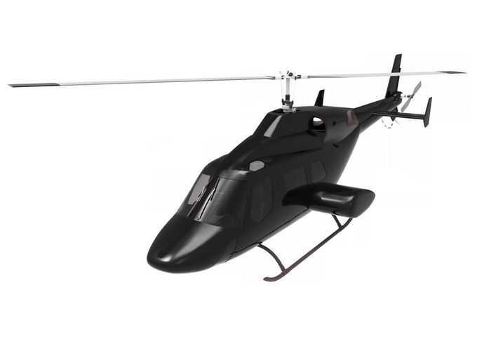 一架黑色的直升机7848528png免抠图片素材