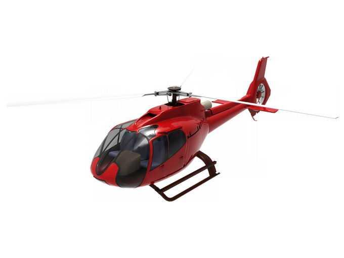 一架红色的轻型直升机3529643png免抠图片素材