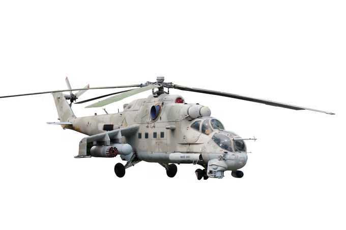 米-24武装直升机前苏联雌鹿直升机8222006png免抠图片素材