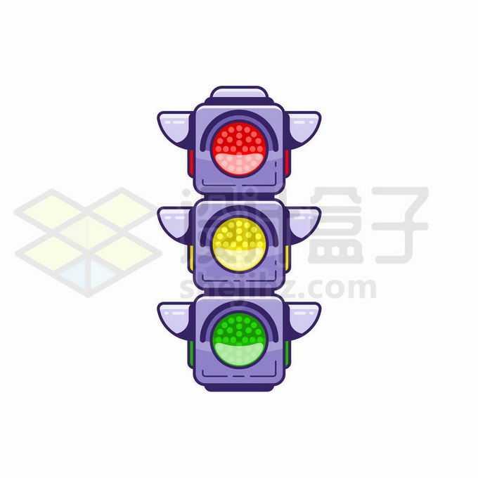 一款红绿灯交通指示灯5297495矢量图片免抠素材免费下载