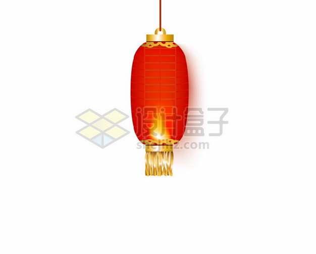 椭圆形的中国红灯笼3999338矢量图片免抠素材