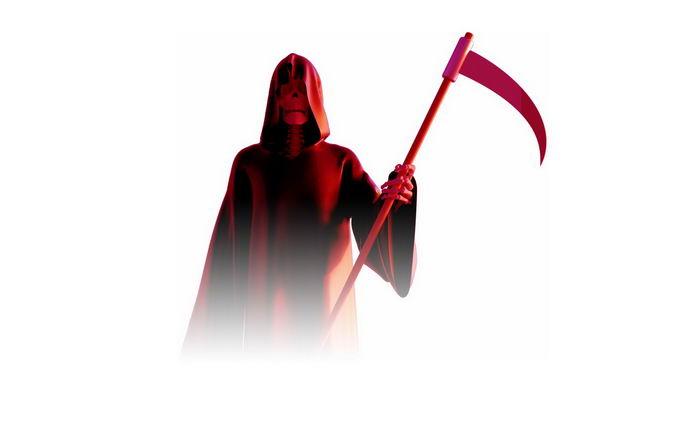 红色的死神恐怖元素6889894免抠图片素材