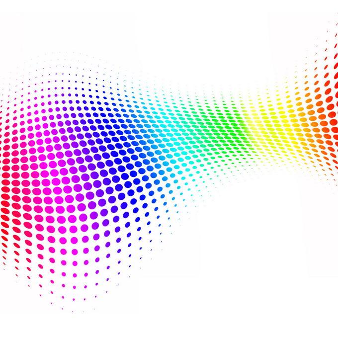 彩色圆点组成的抽象装饰1824814免抠图片素材