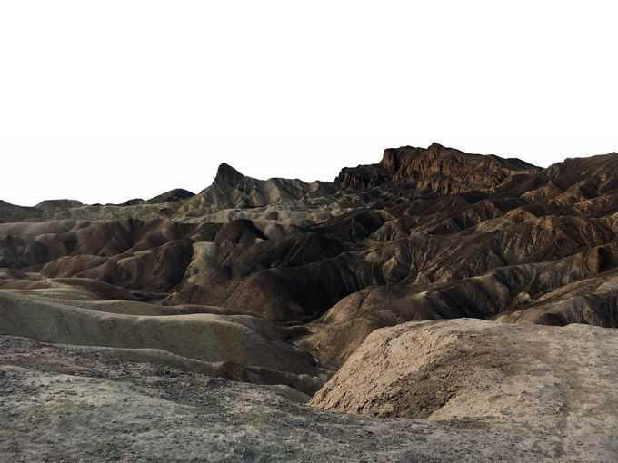 丹霞地貌干旱地区的石头山1538437png免抠图片素材