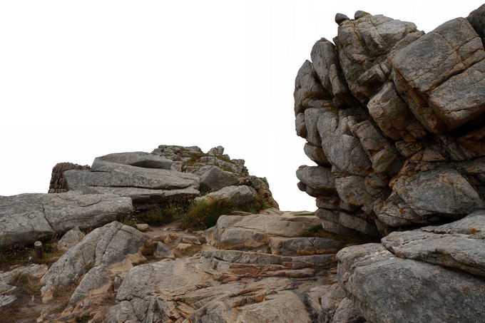 山顶风化的层叠石头石块风景4140872png免抠图片素材