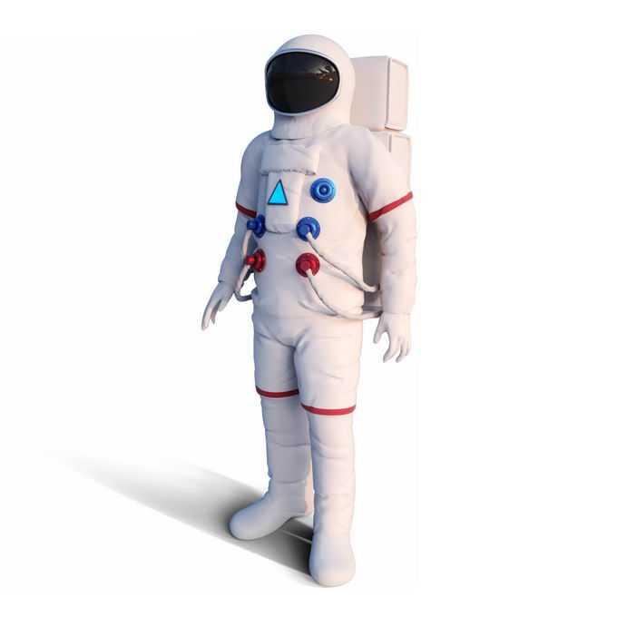身穿白色宇航服的宇航员太空人3877014免抠图片素材