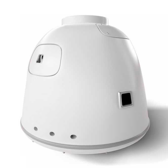 3D立体白色的神舟飞船返回舱宇宙飞船5986974免抠图片素材