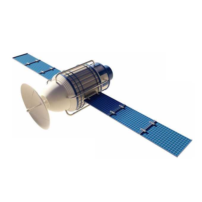3D立体人造卫星侦查卫星7658156免抠图片素材