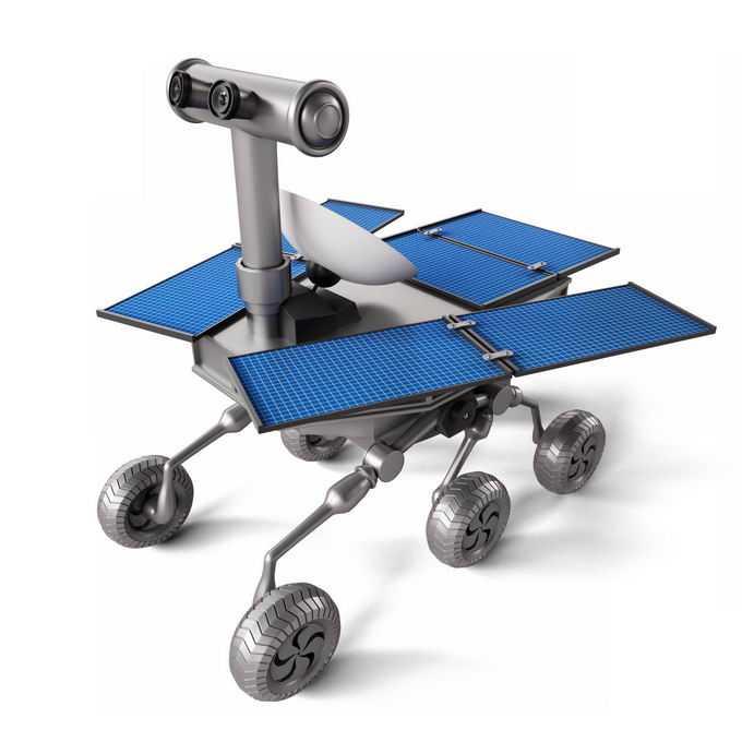 3D立体火星探测车月球车1948444免抠图片素材