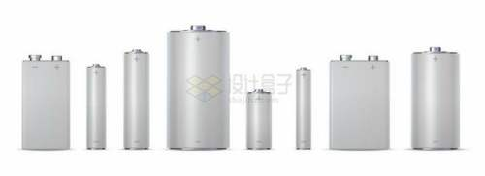 各种规格的电池空白包装6730787矢量图片免抠素材