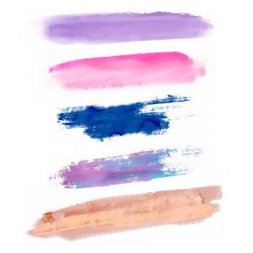 彩色涂鸦油墨水彩色块968093png图片免抠素材