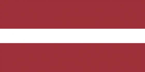 标准版拉脱维亚国旗图片素材