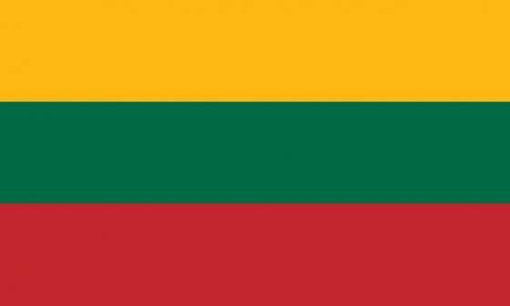 标准版立陶宛国旗图片素材