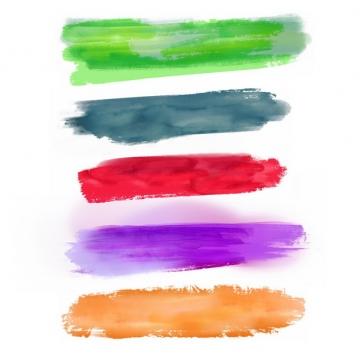 彩色涂鸦油墨水彩色块273755png图片免抠素材