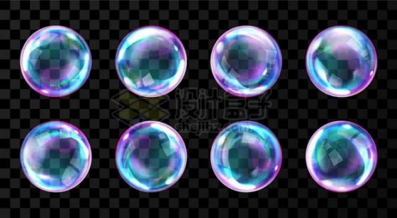 五颜六色的肥皂泡泡656024png矢量图片素材