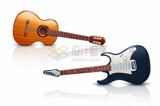 逼真的吉他和尤克里里音乐乐器167668png矢量图片素材