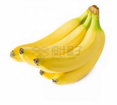 一串5根香蕉北蕉png图片素材