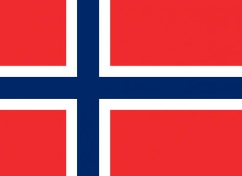 标准版挪威国旗图片素材