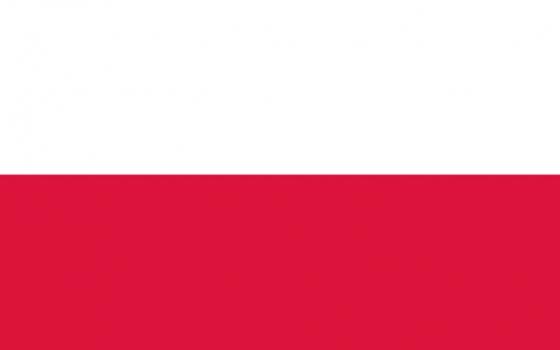 标准版波兰国旗图片素材