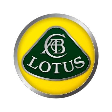 豪华跑车品牌Lotus路特斯莲花汽车标志大全及名字图片免抠素材