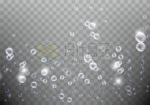 各种气泡水泡效果939705png矢量图片素材