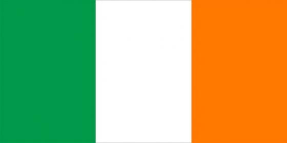 标准版爱尔兰国旗图片素材
