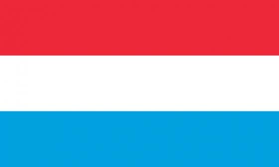 标准版卢森堡国旗图片素材