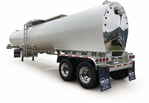 白色槽罐车油罐车危险品运输卡车拖车598411png图片素材
