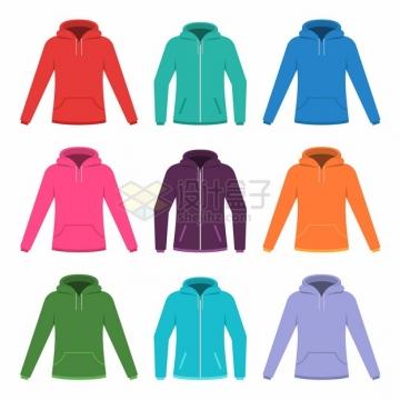 9种颜色的夹克衫846907png图片素材